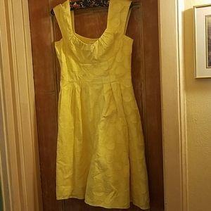 Calvin Klein vintage yellow dress size 6-8